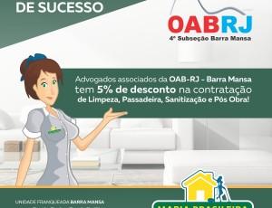 Parceria: Maria Brasileira