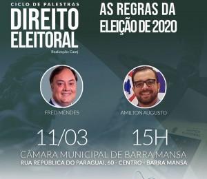 Palestra: Direito Eleitoral