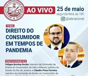 Live: Direito do Consumidor em tempos de pandemia
